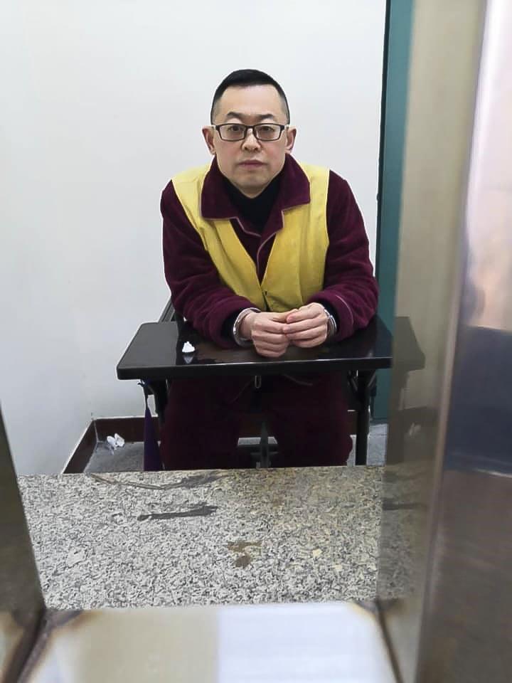 Early Rain -seurakunnan pastori Wang Yi on vankilassa suorittamassa 9 vuoden tuomiotaan.